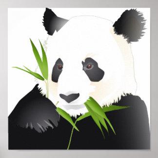 Panda-Bär Poster