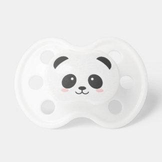 Panda-Bär Schwarzweiss-Binky Schnuller