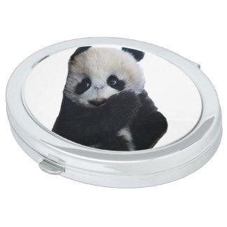 Panda-Bär Taschenspiegel