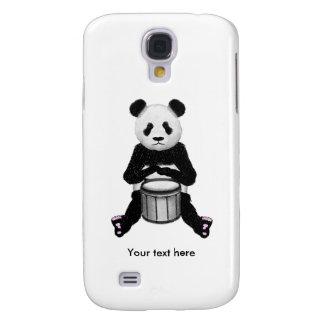 Panda-Bärn-Trommel-Illustration Galaxy S4 Hülle