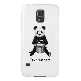 Panda-Bärn-Trommel-Illustration Samsung S5 Hülle