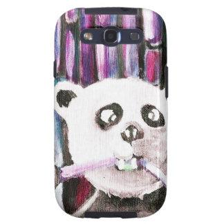 Panda espiègle étui galaxy SIII