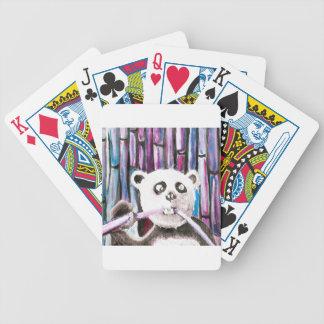 Panda espiègle jeux de 52 cartes