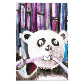Panda espiègle tableau effaçable à sec