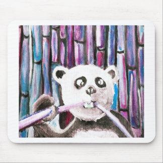 Panda espiègle tapis de souris