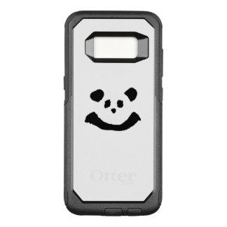 Panda-Gesicht OtterBox Commuter Samsung Galaxy S8 Hülle