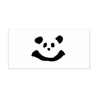 Panda-Gesicht Permastempel