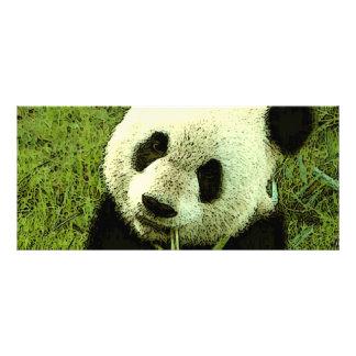 Panda-Gestell-Karte Werbekarte