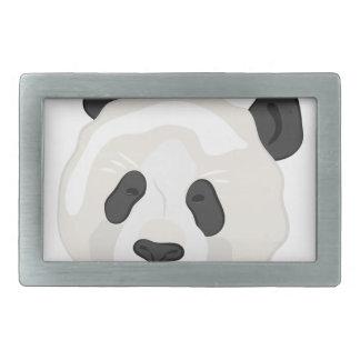 Panda-Kopf Rechteckige Gürtelschnallen