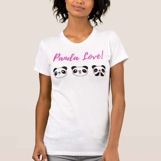 Panda-Liebe T-Shirt