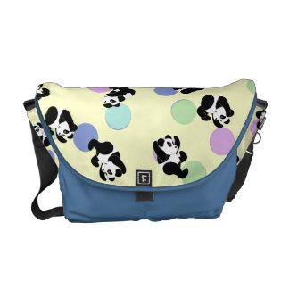 Panda-Manie-Baby Kurier Tasche