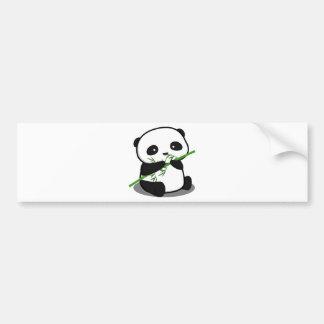 Panda mignon autocollant de voiture