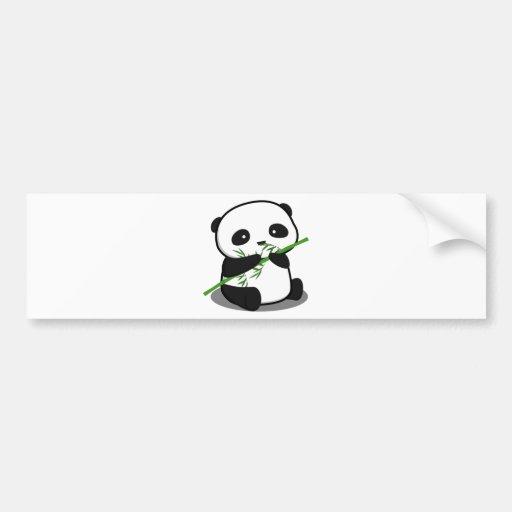 Panda mignon adhésifs pour voiture