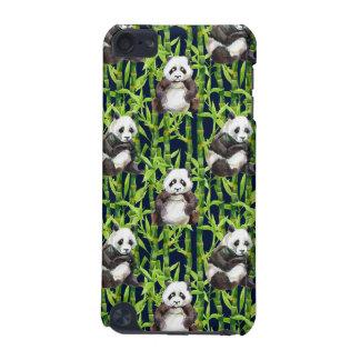 Panda mit BambusAquarell-Muster iPod Touch 5G Hülle