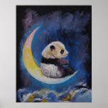 Panda-Mond Poster