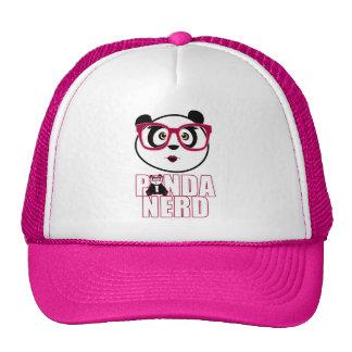 Panda-Nerd-Mädchen Cap