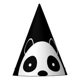 Panda-Partyhüte, Geburtstags-Partydekorationen Partyhütchen
