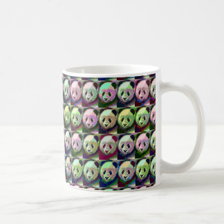 Panda-Pop-Kunst-Tasse Tasse