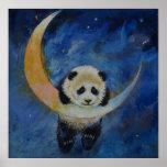 Panda-Sterne Poster