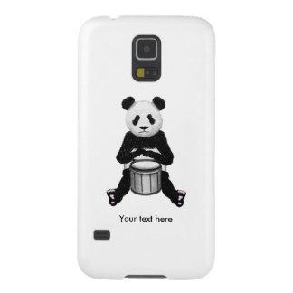 Panda-Trommeln Samsung S5 Hülle