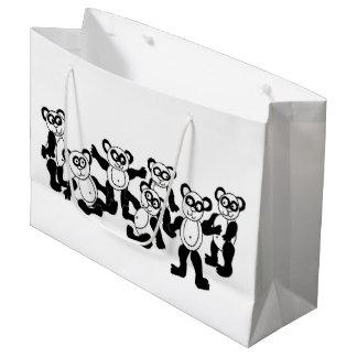 Pandafreund-Geschenktasche Große Geschenktüte