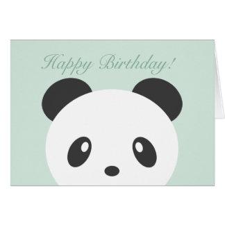 Pandageburtstagskarte Karte