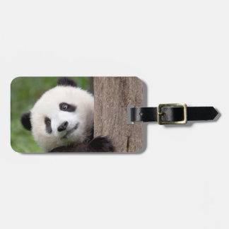 Pandajungsmalerei Kofferanhänger