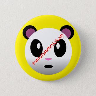 Pandamonium Runder Button 5,7 Cm