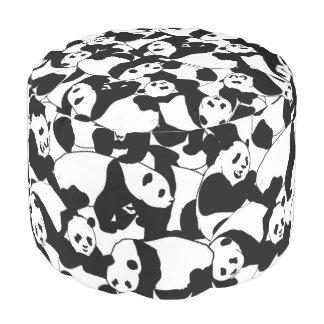 Pandamuster Hocker