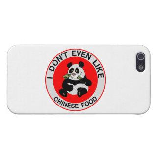 Pandas mögen nicht einmal chinesische Nahrung iPhone 5 Hülle