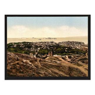 Panorama, Ansicht von Notre Damede-La Garde, Postkarte