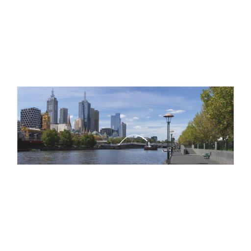 Panorama de Melbourne Impressions Sur Toile