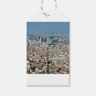 Panorama von Neapel Geschenkanhänger