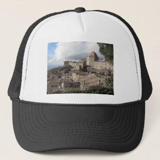 Panorama von Volterra Dorf, Toskana, Italien Truckerkappe