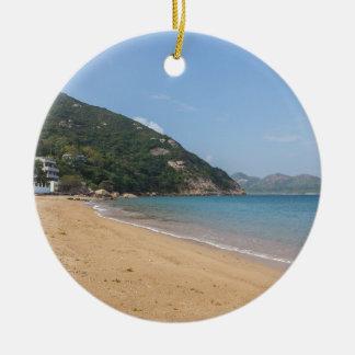 Panoramablick von Sok Kwu fahler Lamma Insel Keramik Ornament