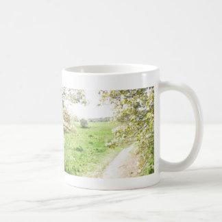 Panoramische Blüte sehen Abflussrinne-Tasse Kaffeetasse