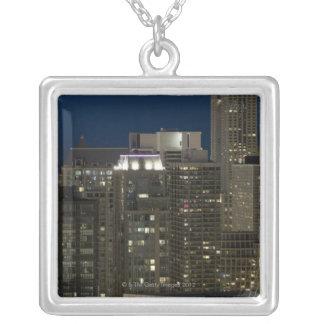 Panoramische von der Luftansicht der Gebäude in Versilberte Kette