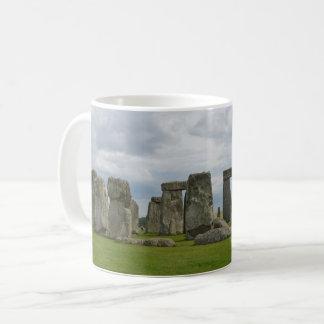 Panoramisches Vista von Stonehenge Kaffeetasse