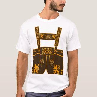 Pantalon de cuir Royaume Bavière fête de la bière T-shirt