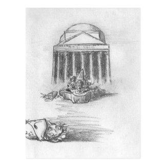 Pantheon-Ruinen Postkarte