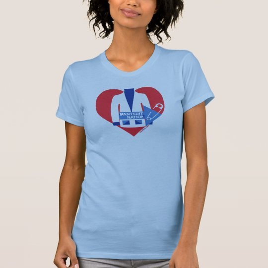 Pantsuit-Nation ~ Sicherheit festgesteckt zu T-Shirt