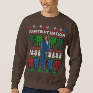 Pantsuit-Nations-klebriges Sweatshirt