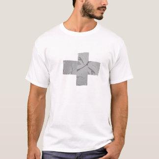 Panzerklebeband-Reparatur T-Shirt