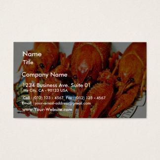 PanzerkrebseCrawdads Craytfish Visitenkarte