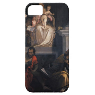 Paolo Veronese- Madonna couronné avec l'enfant iPhone 5 Case