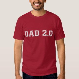 Papa 2,0 tee shirts