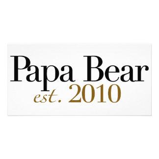 Papa-Bär Est 2010 Photo Karte