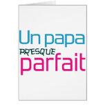 Papa/Dad/Daddy/Vati/Papa Grußkarte