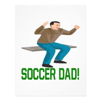 Papa du football prospectus personnalisés