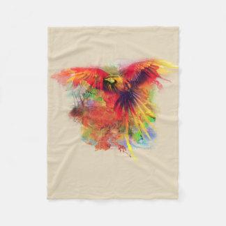 Papagei Fleecedecke
